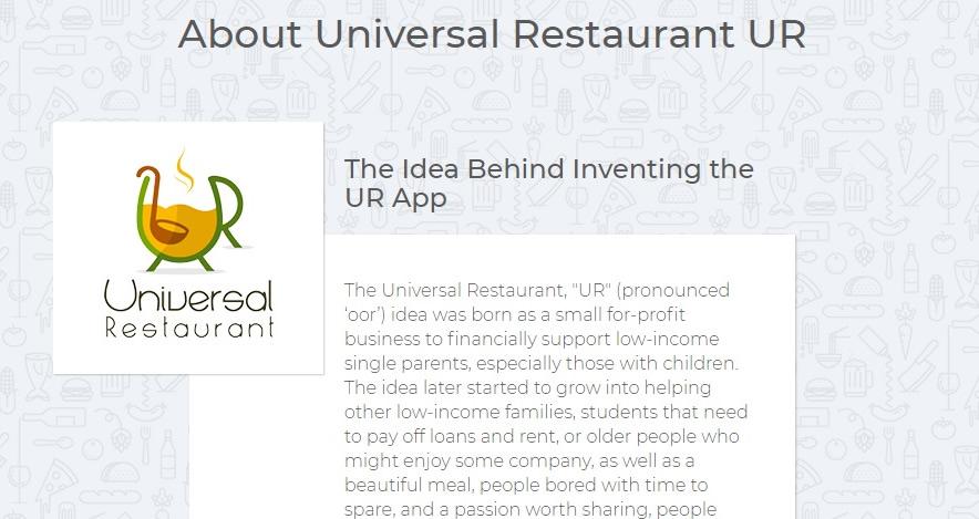 UR Case Study - Launch of an Idea